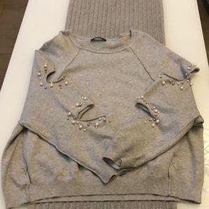 Zara sweater.  Zara Knit Collection